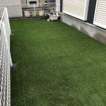 【天然芝のお庭を人工芝サンターフAg+でリノベーション!!】