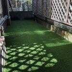 【お庭をメンテナンスフリーな人工芝に!!】