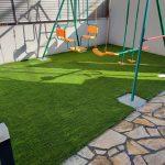 【天然芝の維持管理は本当に大変です!!】